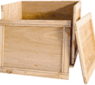 M-Series: Folding boxes made of wood with the certain c(l)ick