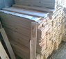 timbers for crates and pallets